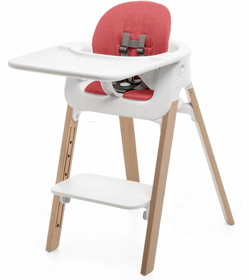 Stokke Steps plete High Chair with Cushion White