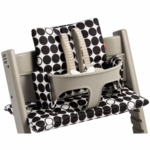 Stokke Tripp Trapp Cushion in Dots Black