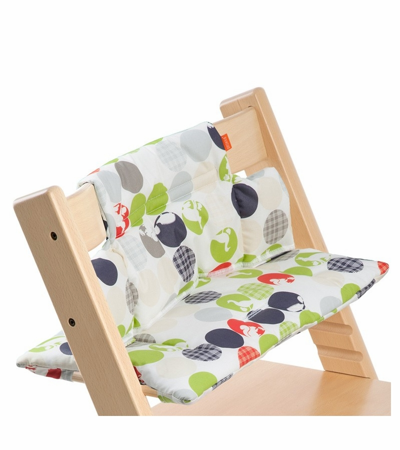 stokke tripp trapp cushion in silhouette green. Black Bedroom Furniture Sets. Home Design Ideas