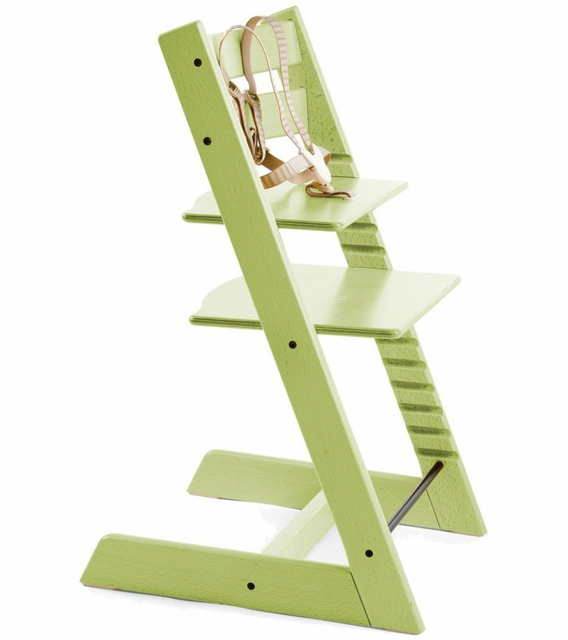 stokke tripp trapp high chair in green. Black Bedroom Furniture Sets. Home Design Ideas