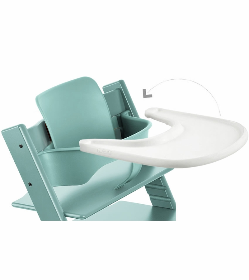 stokke tripp trapp infant starter set aqua blue. Black Bedroom Furniture Sets. Home Design Ideas