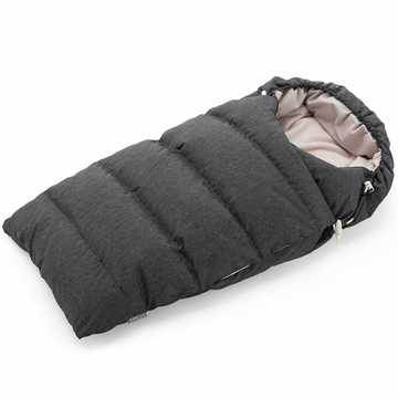 Stokke Xplory Down Sleeping Bag in Anthracite Melange