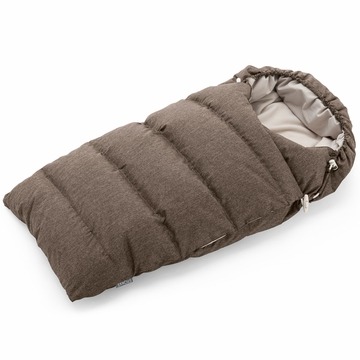 Stokke Xplory Down Sleeping Bag in Nougat Melange