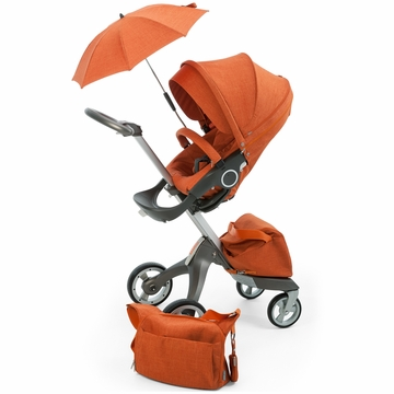 Stokke Xplory Stroller 3-in-1 Kit - Orange Melange