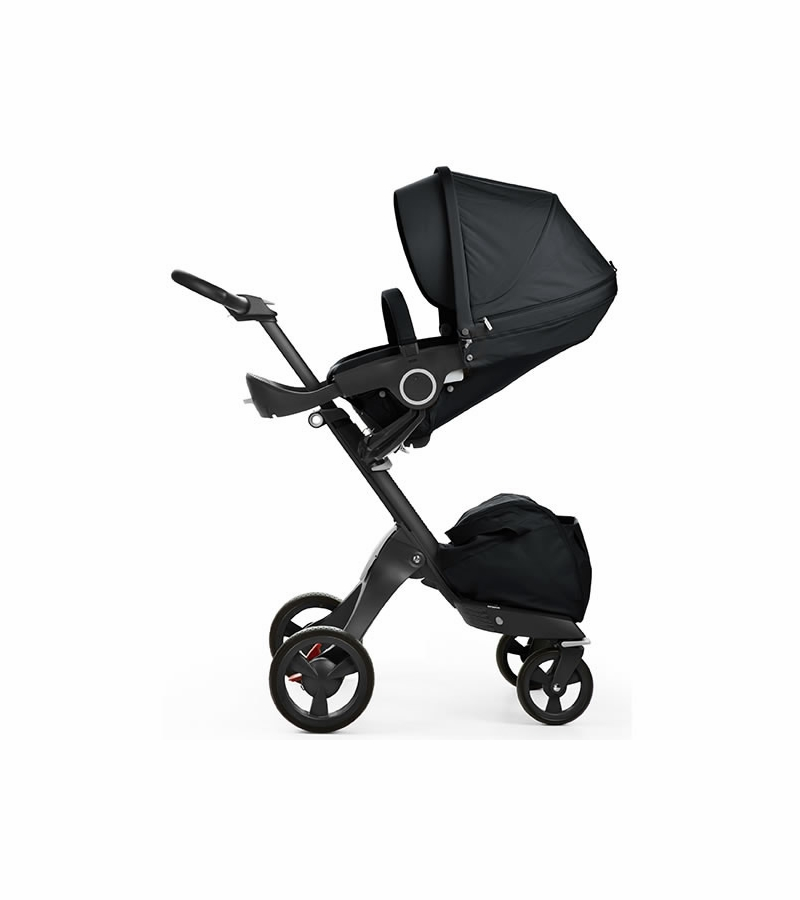 Stokke Xplory Stroller True Black Limited Edition