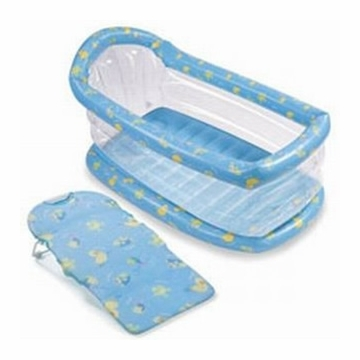 Summer Infant 08264 Inflatable Tub With Folding Bath Sling