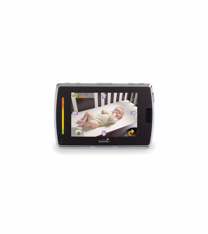 summer infant baby touch boost color video monitor 28810a. Black Bedroom Furniture Sets. Home Design Ideas
