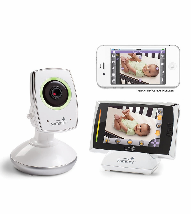 Summer Infant Baby Touch WiFi Video Monitor & Internet