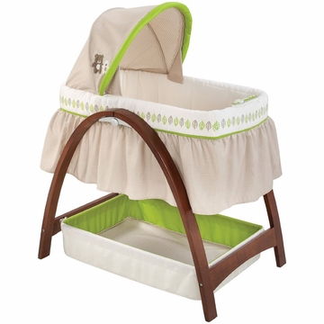 Summer Infant Bentwood Motion Bassinet