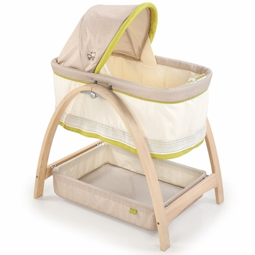Summer Infant Bentwood Motion Bassinet - Bear Buddies