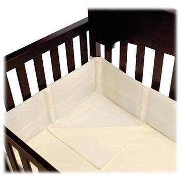 Summer Infant Breathe Easy Bumper & Sheet System - Ecru