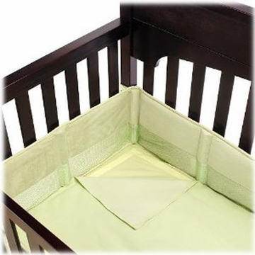 Summer Infant Breathe Easy Bumper & Sheet System - Sage