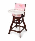 Summer Infant Carter's JOY Wood High Chair - Pink Joy
