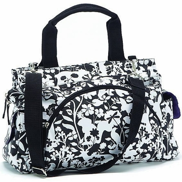 Summer Infant Easton Tote Diaper Bag, Black/White