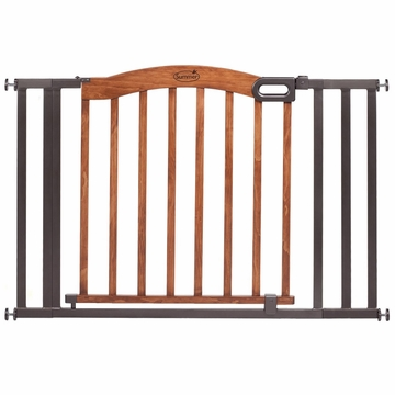 Summer Infant Extra Wide Wood & Metal Gate