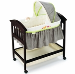 Summer Infant Fox & Friends Classic Comfort Wood Bassinet