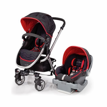 Summer Infant Fuze Travel System with Prodigy Infant Car Seat - Jet Set