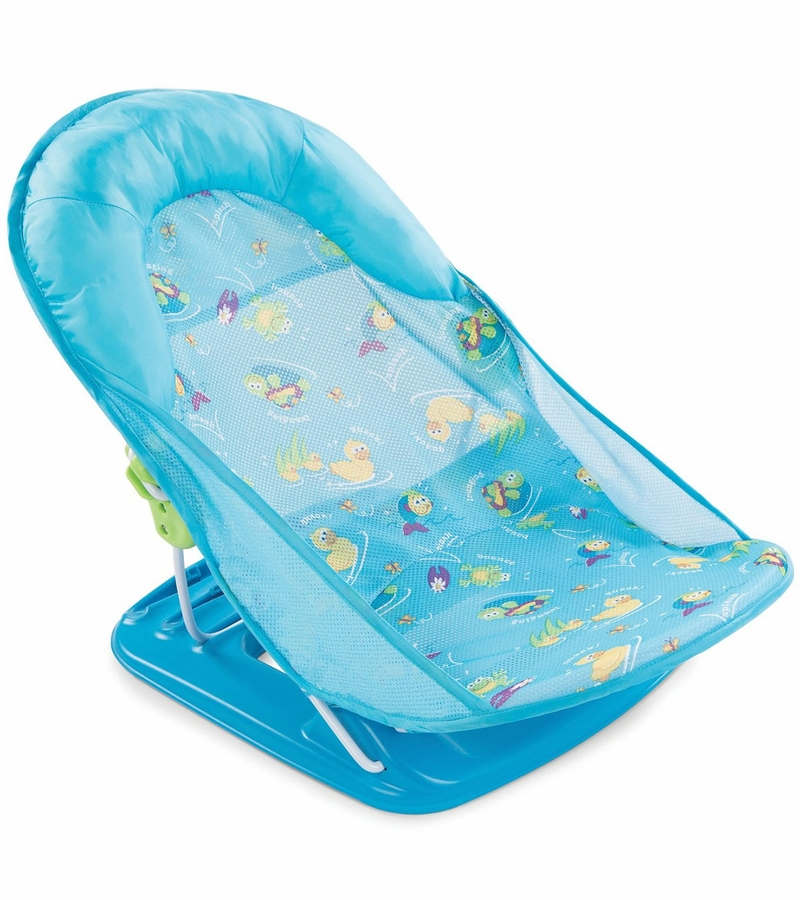Summer Infant Deluxe Baby Bather Blue