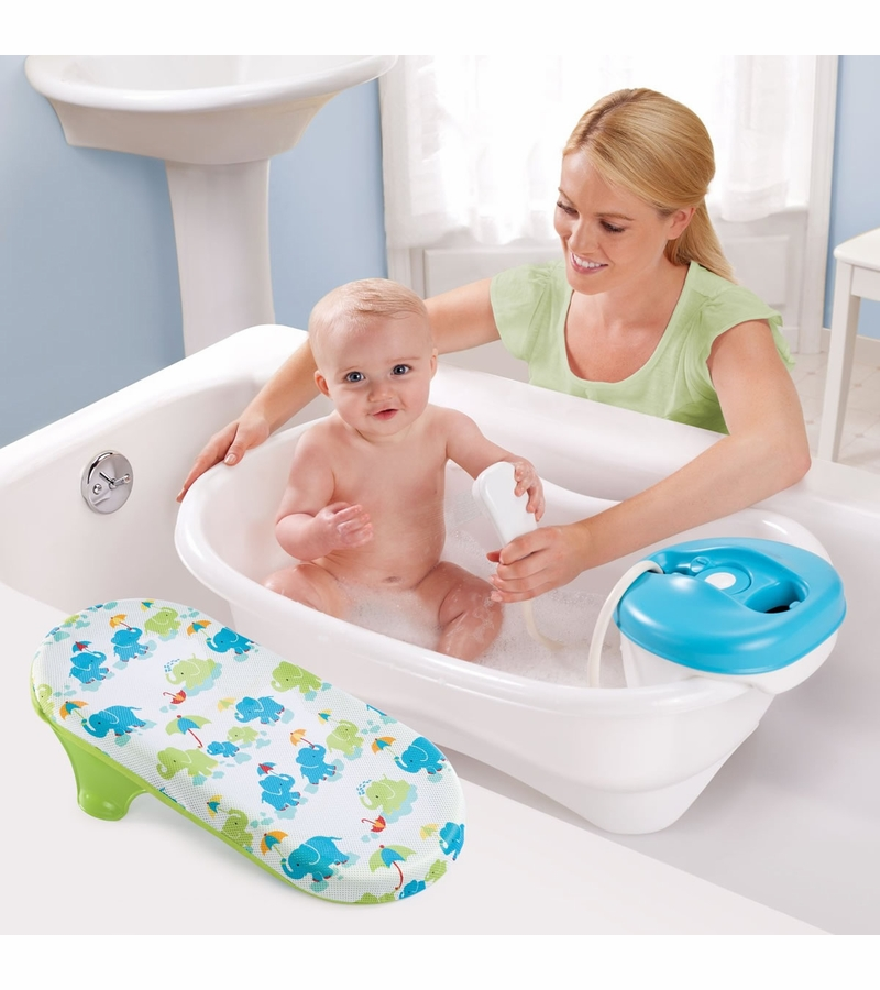 summer infant newborn to toddler bath center amp shower summer infant newborn to toddler bath and shower center