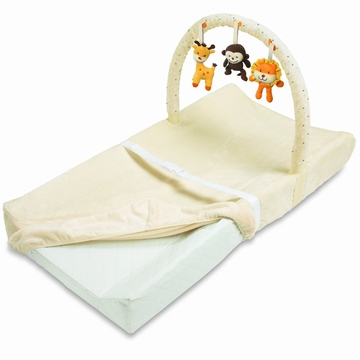 Summer Infant Plush N' Play Changing Pad with Toy Bar