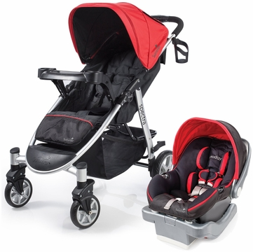 Summer Infant Spectra & Prodigy Travel System - Jet Set Red