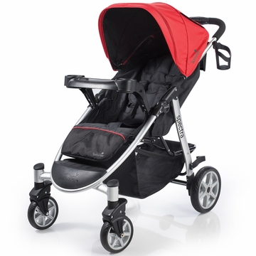 Summer Infant Spectra Stroller - Jet Set/Red