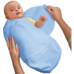 Summer Infant SwaddleMe Small Microfleece in Blue