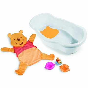 Summer Infant Winnie the Pooh Newborn to Toddler Bath Tub