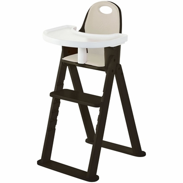 Svan Baby to Booster High Chair - Espresso/Almond