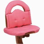 Svan Cushion in Watermelon/Pink