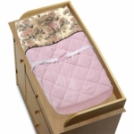 Sweet JoJo Designs Abby Rose Changing Pad Cover
