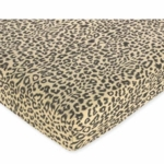 Sweet JoJo Designs Animal Safari Crib Sheet in Animal Print Microsuede