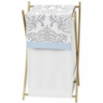 Sweet JoJo Designs Avery Gray & Blue Hamper