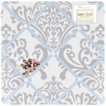 Sweet JoJo Designs Avery Gray & Blue Memo Board