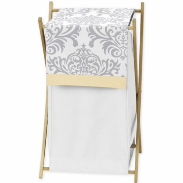 Sweet JoJo Designs Avery Gray & Yellow Hamper