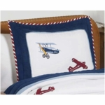 Sweet JoJo Designs Aviator Pillow Sham