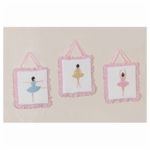 Sweet JoJo Designs Ballerina Wall Hangings
