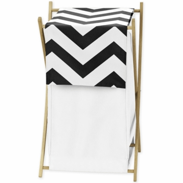 Sweet JoJo Designs Black & White Chevron Hamper