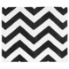 Sweet JoJo Designs Black & White Chevron Rug