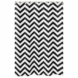 Sweet JoJo Designs Black & White Chevron Shower Curtain