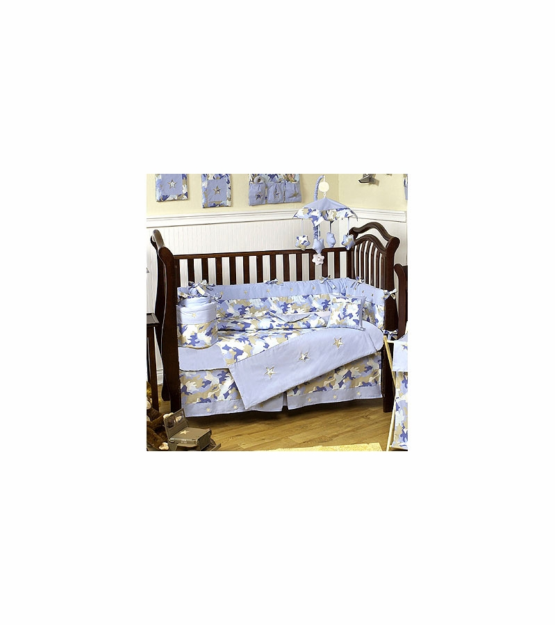 28 blue camo crib bedding khaki and blue camo baby bedding