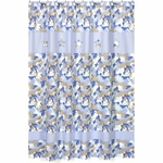 Sweet JoJo Designs Camo Blue Shower Curtain