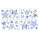 Sweet JoJo Designs Camo Blue Wall Decals