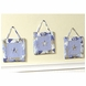 Sweet JoJo Designs Camo Blue Wall Hangings