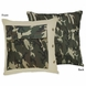 Sweet JoJo Designs Camo Green Decorative Throw Pillow