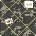 Sweet JoJo Designs Camo Green Fabric Memo Board