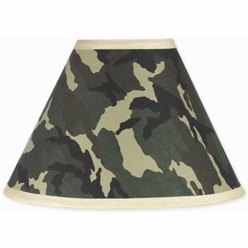 Sweet JoJo Designs Camo Green Lamp Shade
