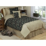 Sweet JoJo Designs Camo Green Twin Bedding Set