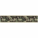 Sweet JoJo Designs Camo Green Wallpaper Border
