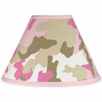Sweet JoJo Designs Camo Pink Lamp Shade